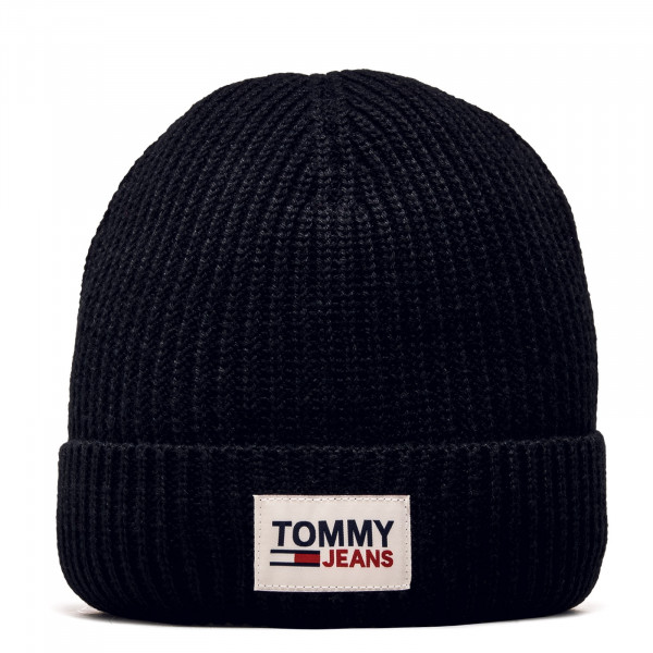 Patch Beanie Black