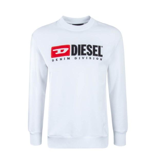 Diesel Sweat Crew Division White