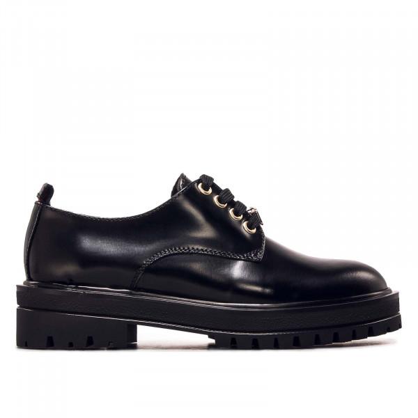 Damen Schuh - Polished Lace Up Shoe - Black