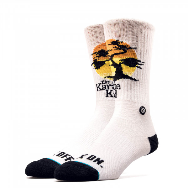 Stance Socks Karate Kid White Black