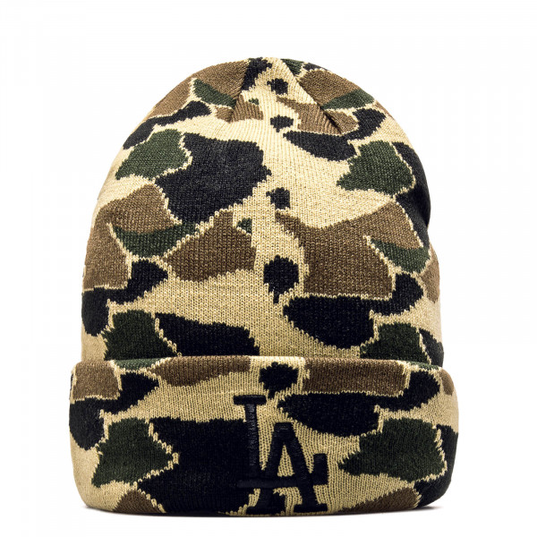 New Era Beanie Cuff LosDod Camo Green