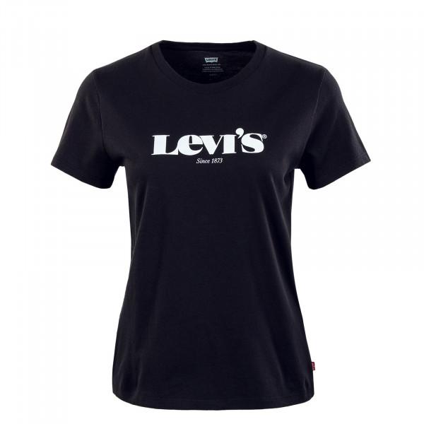 Damen T-Shirt - Perfect Tee New Logo II - Caviar Black