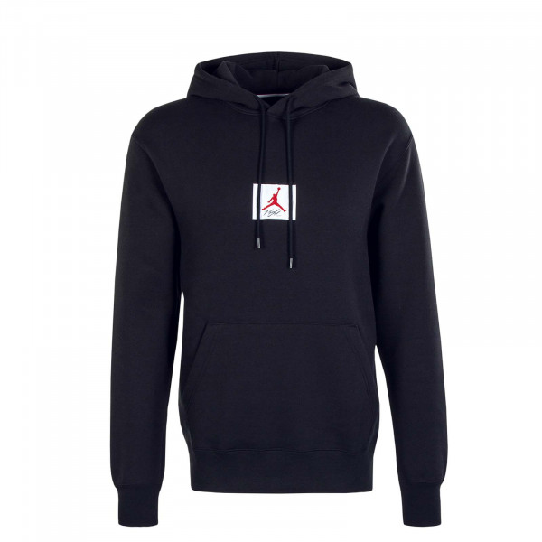 Herren Hoody Jordan Flight Solid Black