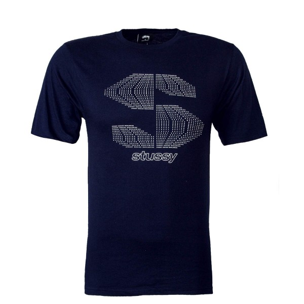 Stüssy TS S Type Navy White