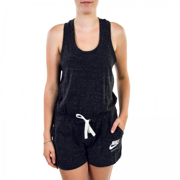 Nike Wmn Jumpsuit Gym VNTG Black Grey