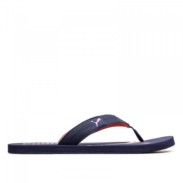 Puma Slide Cozy Navy Red