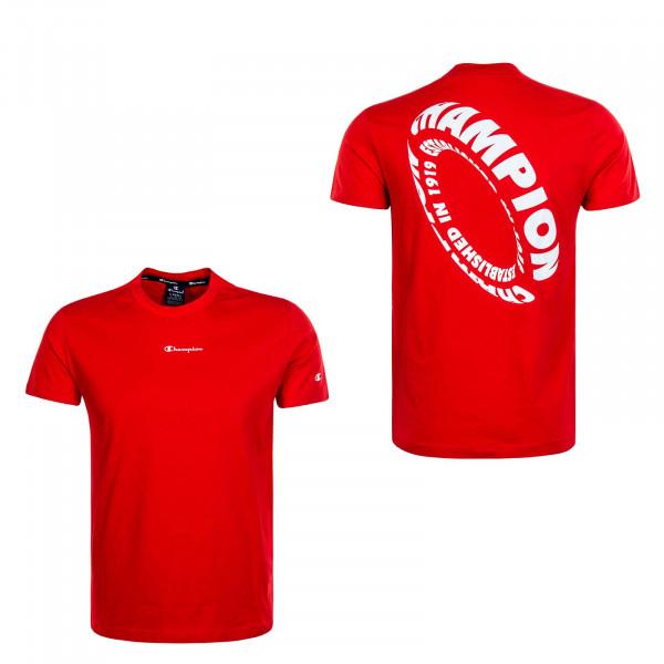 Herren T-Shirt 4228 Red