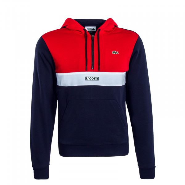 Lacoste Hoody SH3505 Navy Red White