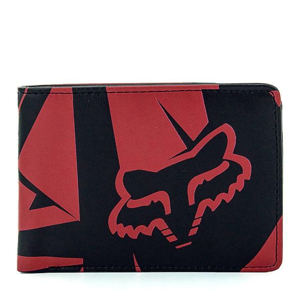 Fox Wallet Fracture Badlands Red Black