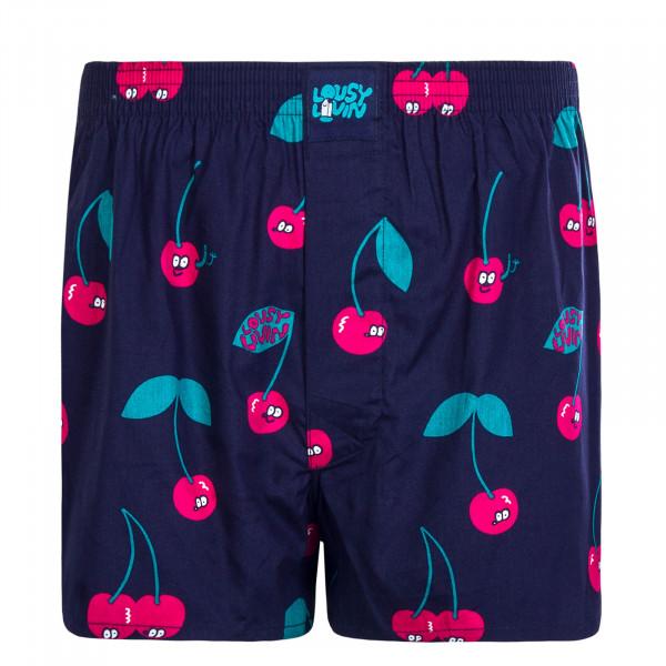 Herren Unterwäsche - Boxershorts Cherries - Blue