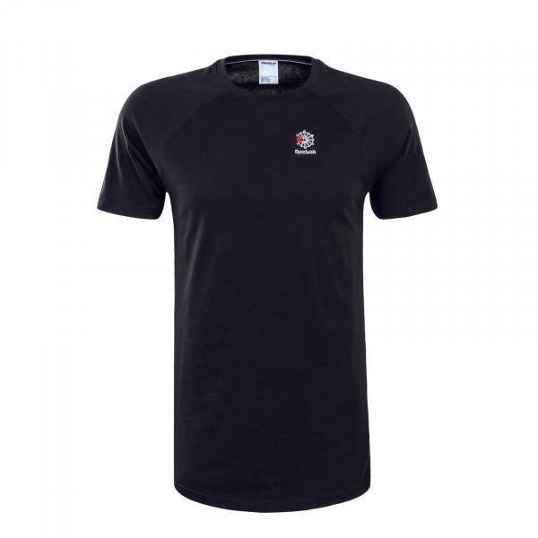 Herren T-Shirt AC F Longer Black