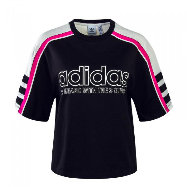 Damen T-Shirt OG Black White Pink
