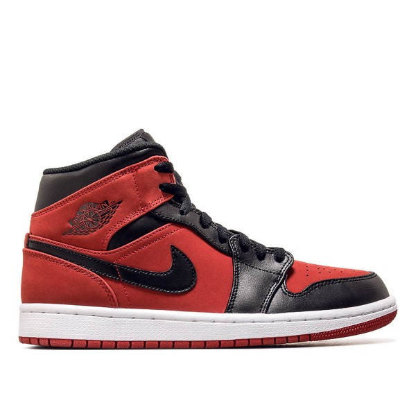 Jordan Air 1 Mid Red Black