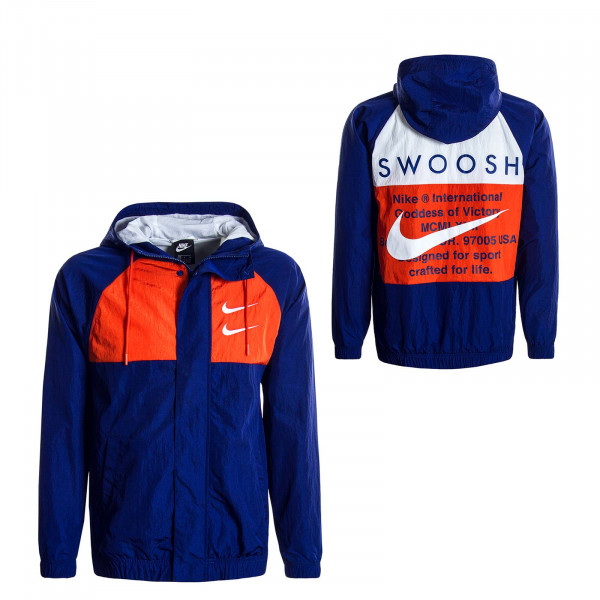 Herrenjacke Swoosh 4888 Royal Orange