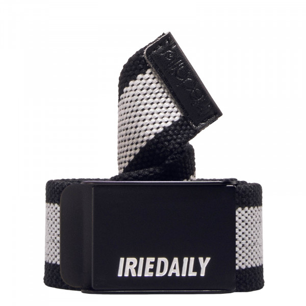 Iriedaily Belt Striped Black White