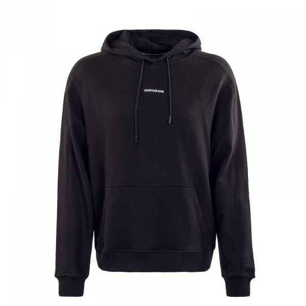 Herren Hoody - Micro Branding 7388 - Black