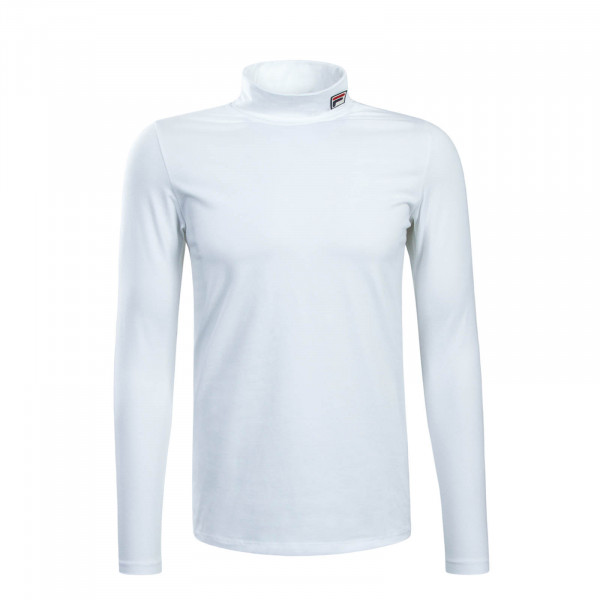 Longsleeve Roll Neck Classic 19th White