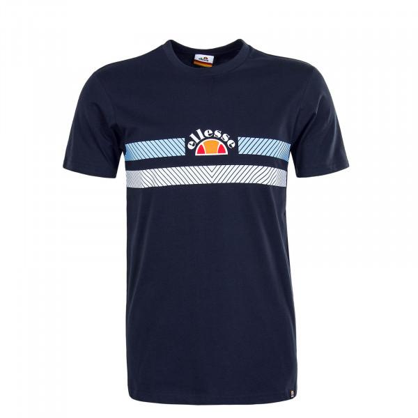Herren T-Shirt - Lori Navy - White