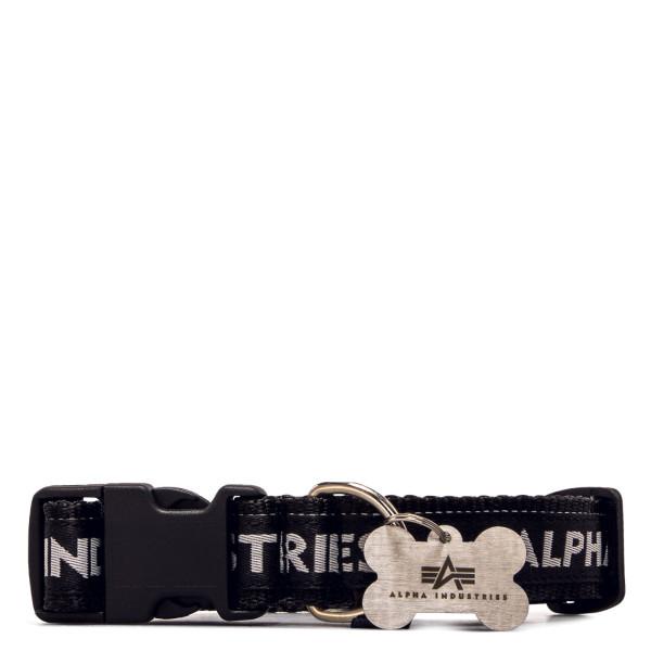 Hundehalsband - AI Dog Tag Collar - Black / Grey
