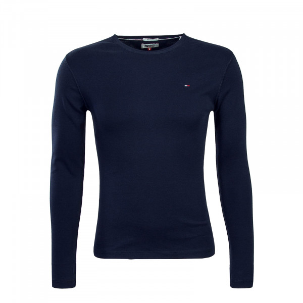 Tommy LS Orginal Rib 4409 Blue