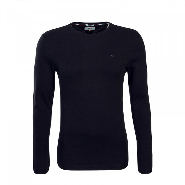 Tommy LS Orginal Rib 4409 Black