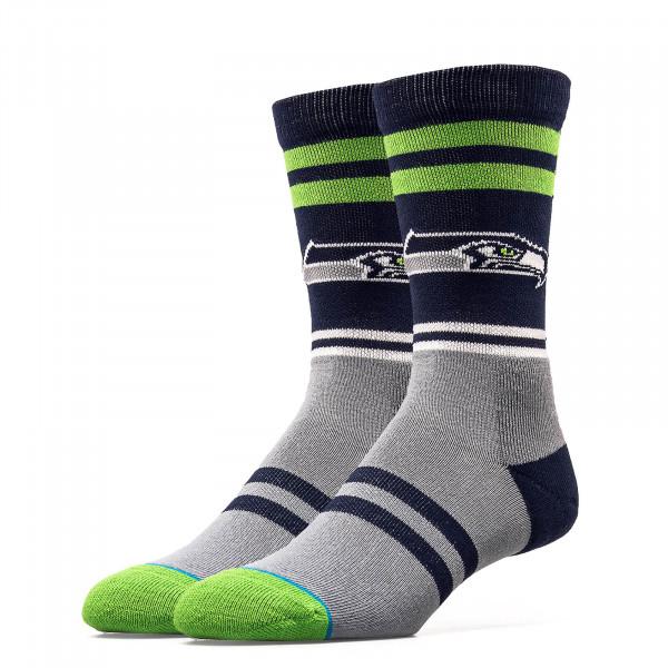 Stance Socks NFL Seahawks Logo Navy Grey