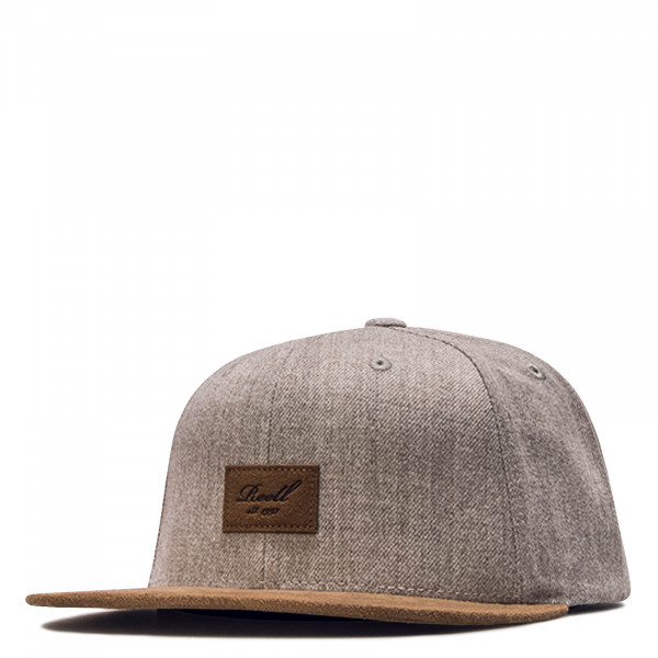 Cap Suede Light Grey Brown