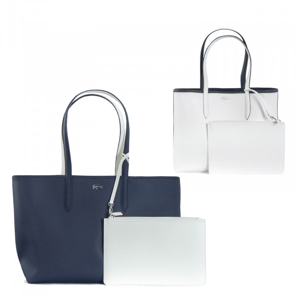 Shopping Bag Marshmallow Blue