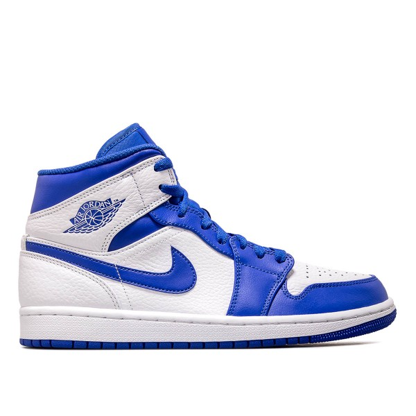Jordan 1 Mid Royal White