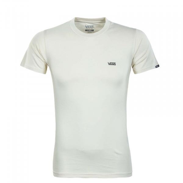 Herren T-Shirt - Left Chest Logo - Seed / Pearl / Blac/