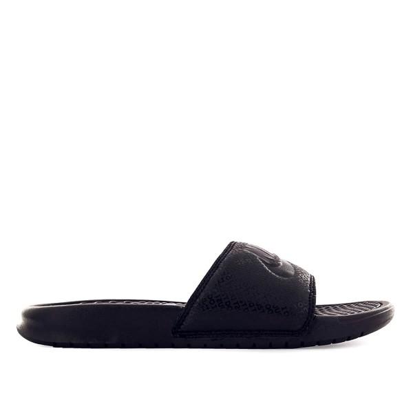 Nike Schlappe Benassi JDI Black Black
