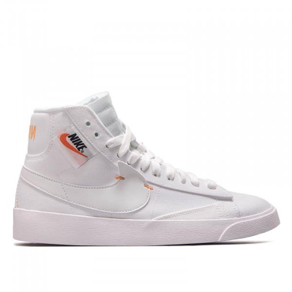 Damen Sneaker Blazer Mid Rebel White Platinum