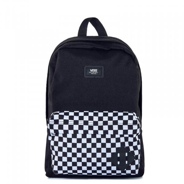 Backpack New Skool Black Check White