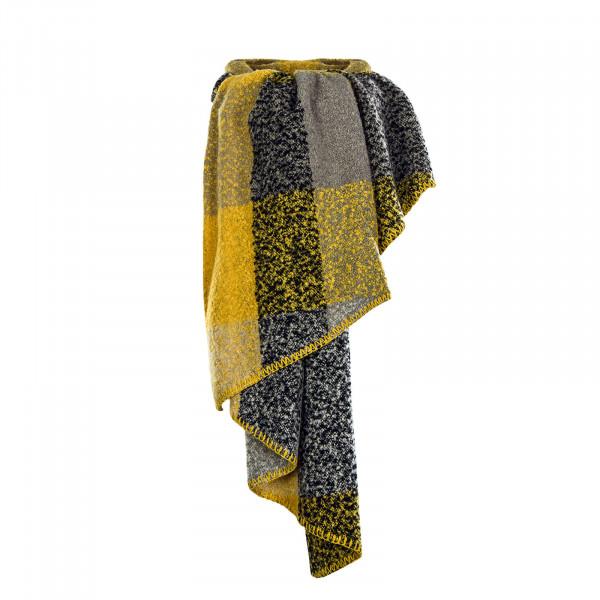 Damen Schal Lima Yellow Grey