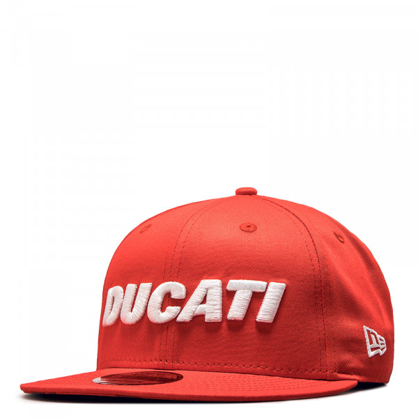 Basecap 9Fifty Dukati Red White