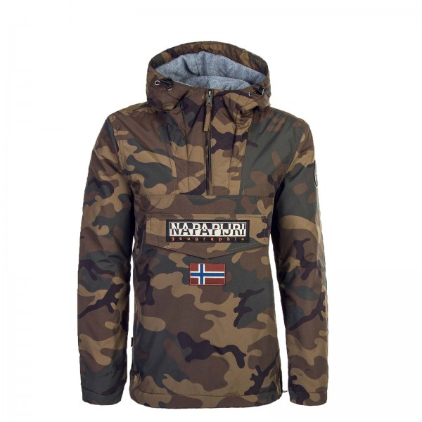 NAPAPIJRI Windbreaker Rainforest CamoBro