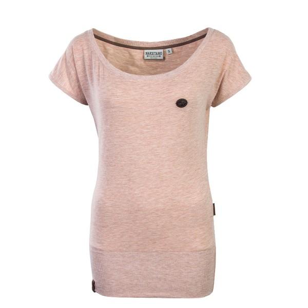 Naketano Wmn TS Wolle Pastel Pink Melang