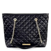 House Of Envy Bag Preppy Shopper Black