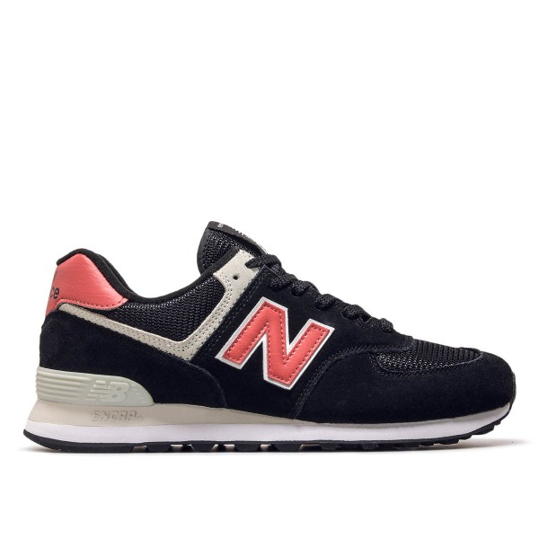 New Balance ML574 SMP Black Red