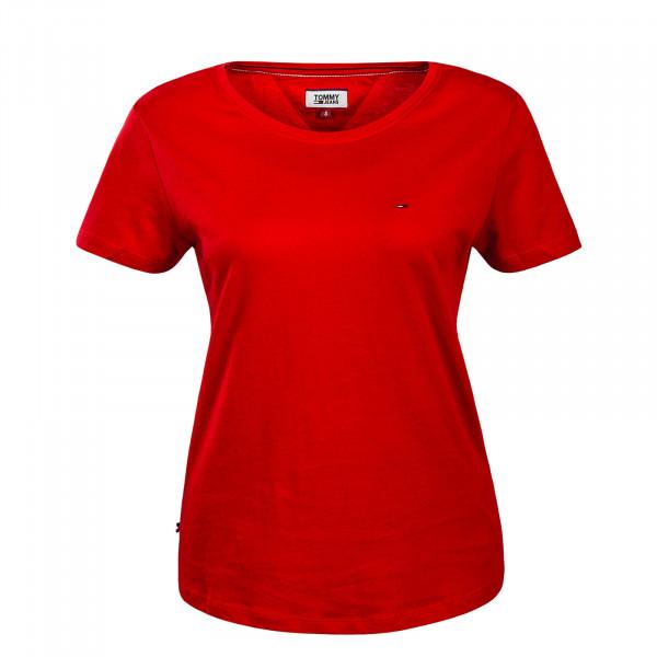 Tommy Wmn TS TJW Soft Jersey Red