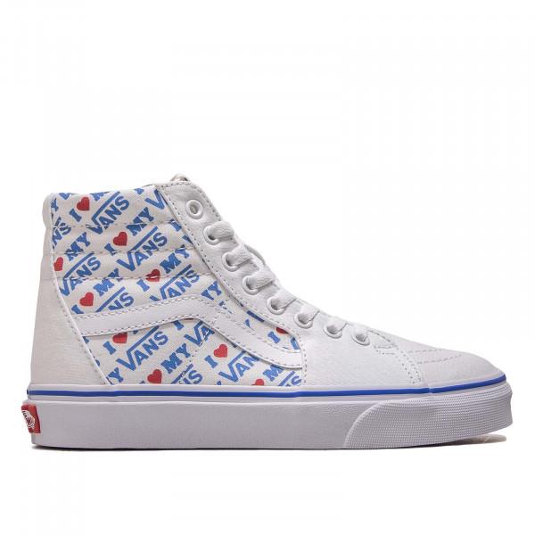 Damen Sneaker SK 8 Hi I Heart White
