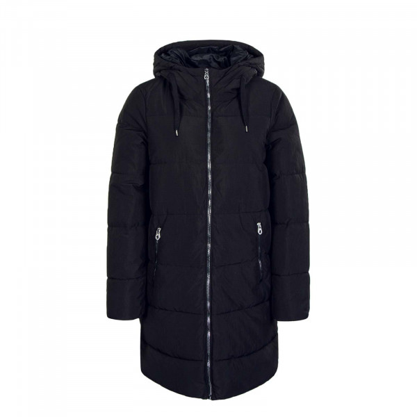 Mantel Dolly Long Puffer Coat Black