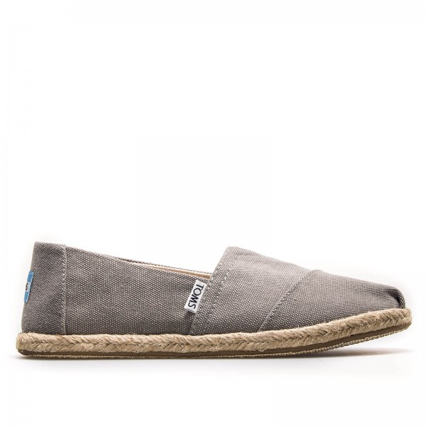 Toms Wmn Classic Drizzle Grey Washed