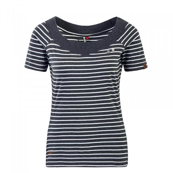 Damen T-Shirt Seina Stripe Antra
