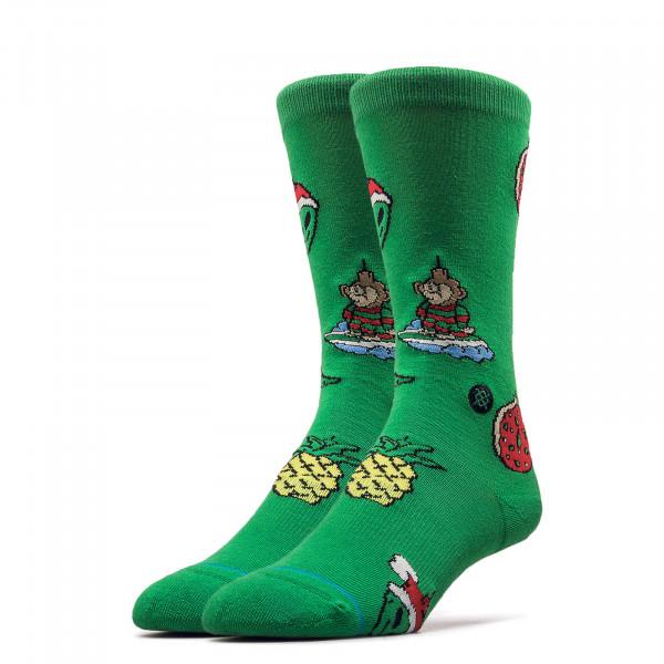 Socken Xmas Ornaments Green