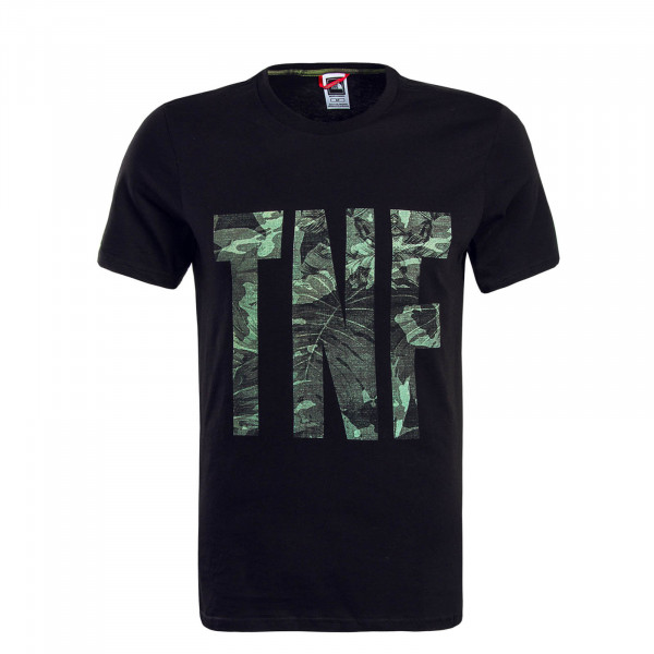 Herren T-Shirt TNF Black Camouflage