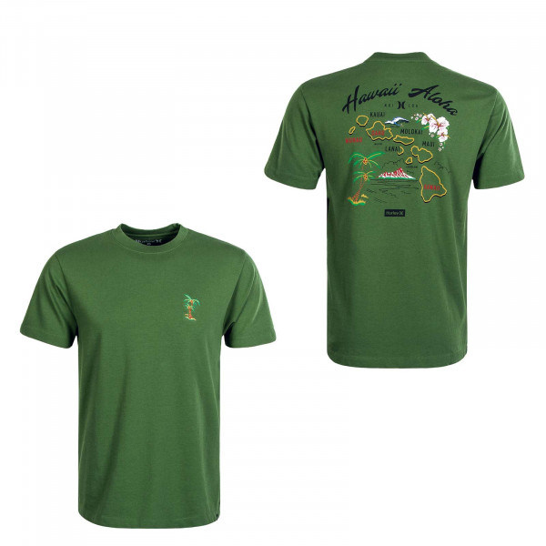 Herren T-Shirt BKE Souvenir Green
