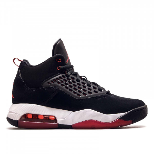 Herren Sneaker Maxin 200 Black Gym Red White