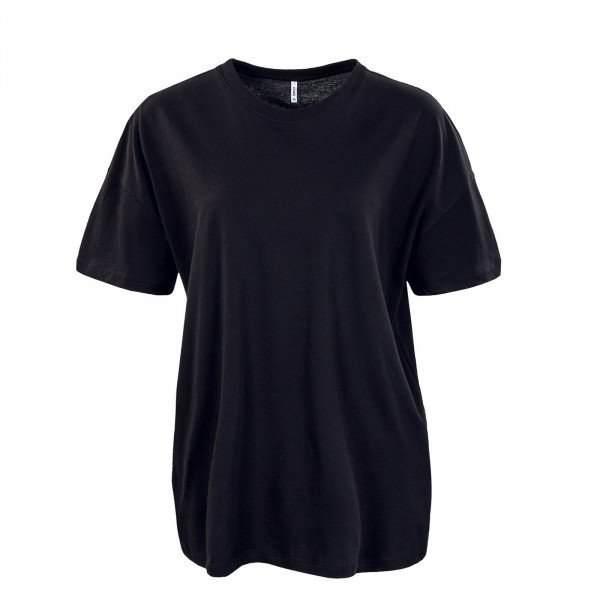 Damen T-Shirt - Aya Life Oversized Top - Black