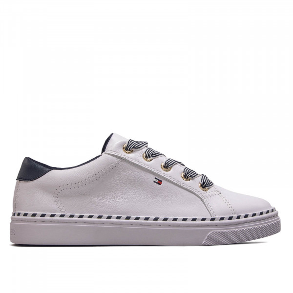 Damen Sneaker Nautical Lace Up White